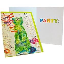Rainbow Card Company Caustic Cats Birthday Card - Tom
