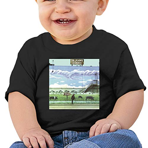 Baby Dr John's Gumbo Shirts Tee Toddler Shirt 2T Black