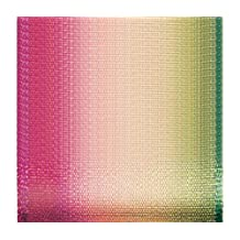 Offray Wired Edge Ombre Craft Ribbon, 3-Inch Wide by 15-Yard Spool, Sorbet