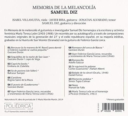Memoria de la melancolía: homenaje a María Teresa León con la ...