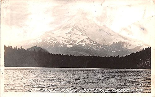 (View From Lost Lake Mount Hood, Oregon postcard)