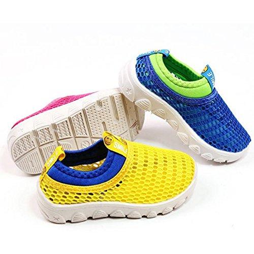 Putu Kinder Sandalen Geschlossen Sommer Outdoor Baby Hausschuhe Atmungsaktiv Strand Garten Schuhe Mädchen Jungen Gelb