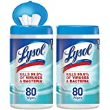 Lysol - Disinfecting Wipes - 80ct - Ocean Fresh - Disinfectant - Cleaning - Sanitizing