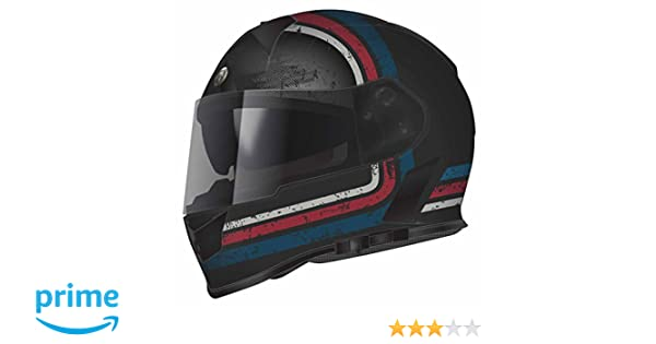 Amazon.com: Torc T14 Streamline Mako Full Face Helmet (Blue/Red/Grey with Graphic, Large): Automotive