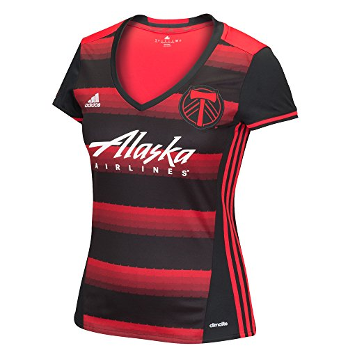 MLS Portland Timbers Women's Replica Short Sleeve Team Jersey, Red, Medium