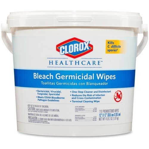 COX30358 - Clorox Healthcare Bleach Germicidal Wipes by Clorox by Clorox (Image #1)