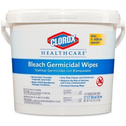 COX30358 - Clorox Healthcare Bleach Germicidal Wipes by Clorox