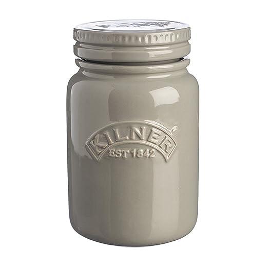 Kilner Ceramic Storage Jars Morning Mist 0.6 Litre   Airtight Ceramic  Kilner Jars For Food Storage
