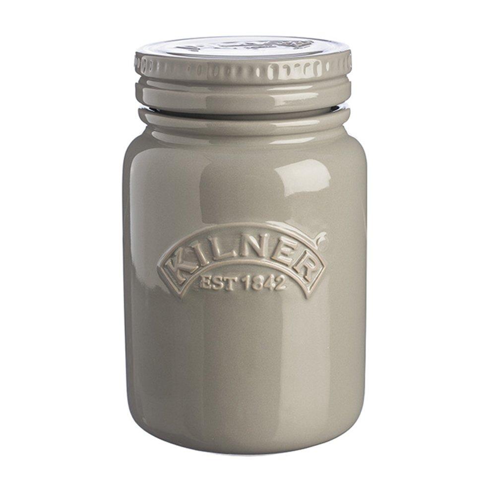 Kilner Ceramic Storage Jar 20-Ounces, Morning Mist
