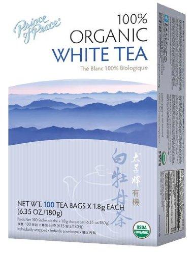 Prince of Peace Organic White Tea 100 tea bags (Pack of 6)