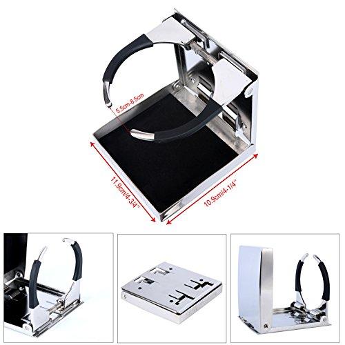 YaeMarine Stainless Adjustable Folding Holders product image