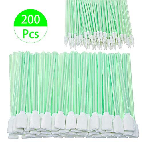 200 Pcs Foam Tip Cleaning Swabs, SEAER 5.1