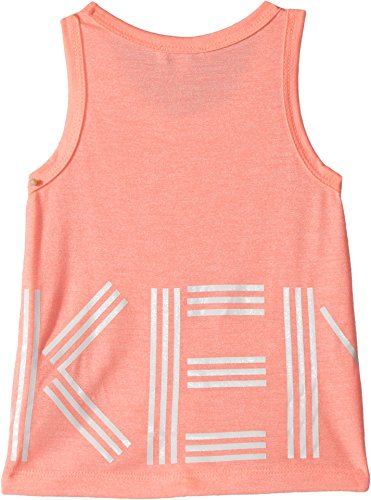Review Kenzo Kids Baby Girl's Logo Tank (Toddler/Little Kids) Neon Corail 2A (2 Toddler)