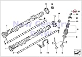BMW Genuine Piston With Rings And Wristpin Valve Train Adjusting Plate 2.16 MM M3 Z4 M3.2 Z4 M3.2 Z3 M3.2