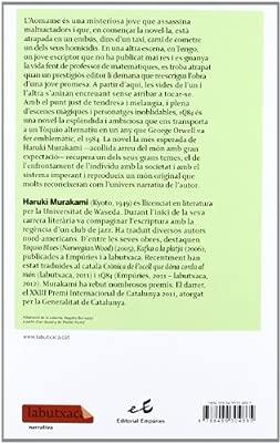1Q84 Llibres 1 i 2 (LABUTXACA): Amazon.es: Haruki Murakami ...