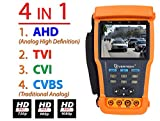 Evertech 3.5″ 4in1 AHD TVI CVI Traditional Analog CCTV Video Security Camera PTZ Tester Review