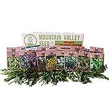 Culinary Herb Seeds Garden Collection   Premium