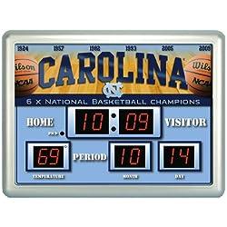 Team Sports America Unc Tar Heels Scoreboard Clock