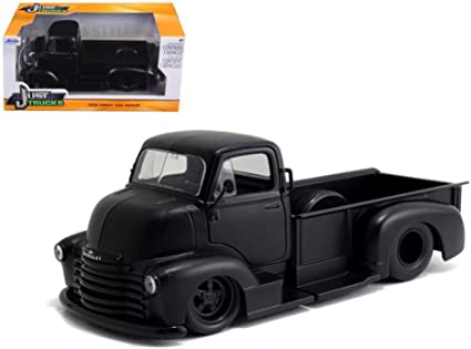 Chevy Coe Pick Up 1952 Matt Black 1:24 Model JADA TOYS