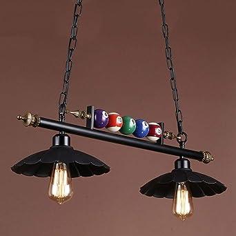 Lámparas colgantes Mesa de comedor vintage 2 * E27 Lámpara de ...