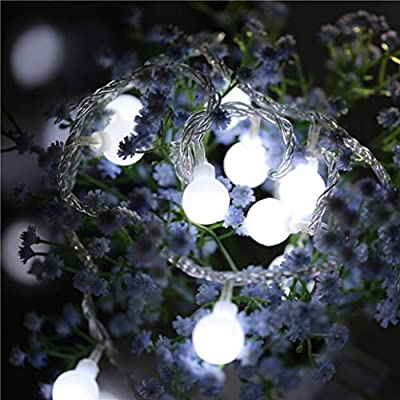 2 5m 20led Fairy String Light Ball Shaped Curtain Lamp Party