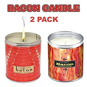 bacon candle how to make