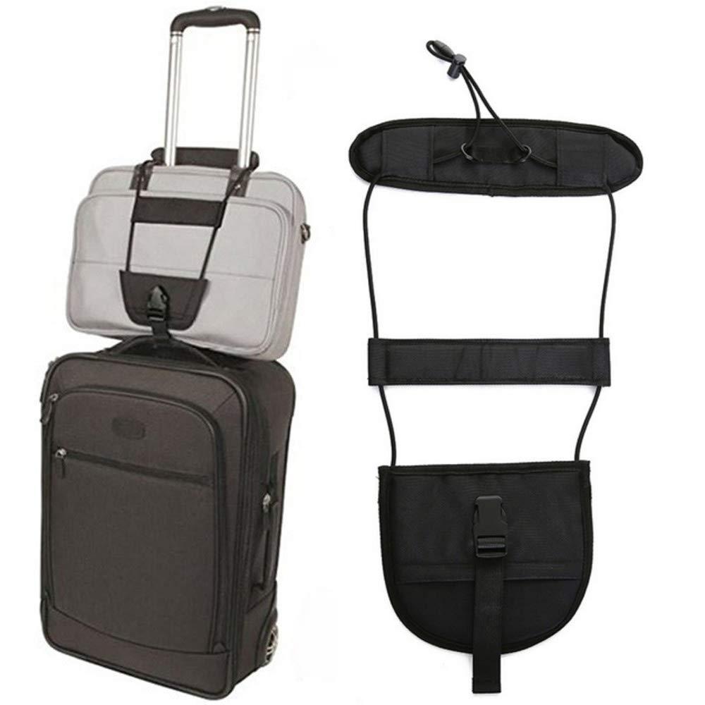 2Pack Bag Bungee,Adjustabl Luggage Straps Suitcase Belt Travel Bag Accessories,Lightweight & Durable