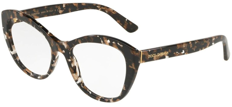 Dolce/&Gabbana DG3284 Eyeglass Frames 911-51 Cube Black//gold DG3284-911-51