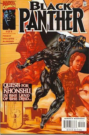 Black Panther #21 Vol 2