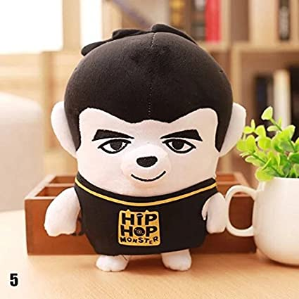 WXLAA BTS Plush Doll Cartoon Toy Boys Kid Gifts Plush Toys Soft Toys 05