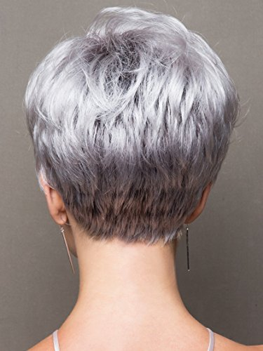 Emerson by Noriko Wigs, Wig Galaxy Hair Loss Booklet & Wide Tooth Comb (Bundle - 3 Items) (CHOCOLATE-FROST-R) by Noriko (Image #3)