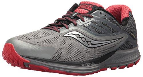 Grey 10 Shoe GTX Mens Red Saucony Saucony Ride Running Mens BU8qS