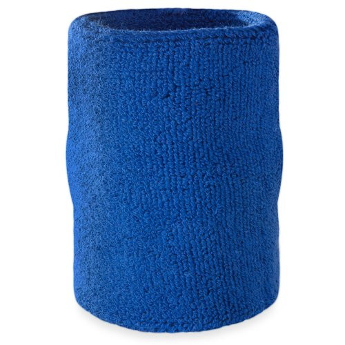 Suddora Arm Sweatband - Athletic Cotton Armband for Sports (Blue)