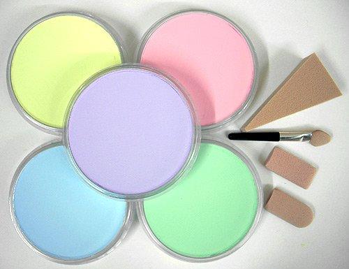Panpastel 9-Milliliter Ultra Soft Artist Pastel Set, Tint, 5-Pack by Panpastel