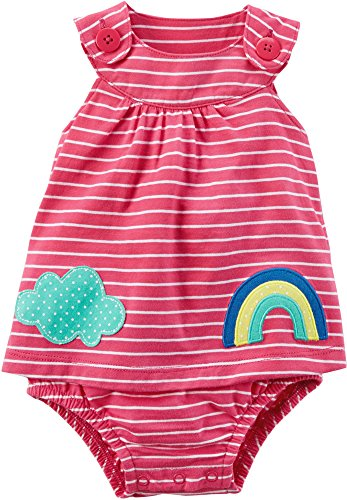 Carter's Baby Girls' 1 Piece Sunsuit 3 Months