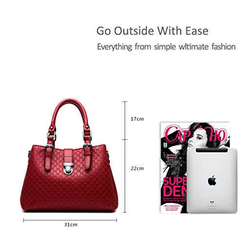for Sapphire bag big bag Claret bag shoulder new handbag amp;Doris purse handbag fashion women minimalist Nicole Messenger x0qwOZBHv