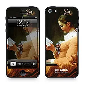 """Buy Da Code ? Skin for iPhone 5/5S: """"A Young Girl Reading"""" by Jean-Honor¨¦ Fragonard (Masterpieces Series)"""