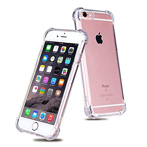 iPhone 6 / 6S Case by NAP | Clear Transparent Cases Slim Flexible Protective Shock Absorbing Reinforced TPU Protection Skins - North Shopping Bend