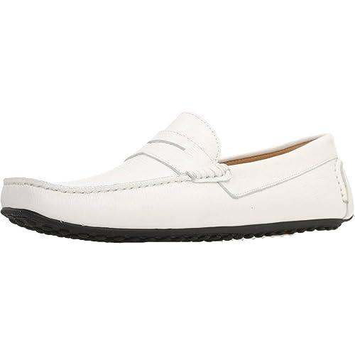 Mocasines para Hombre, Color Blanco, Marca SITGETANA, Modelo Mocasines para Hombre SITGETANA Kiowa Blanco: Amazon.es: Zapatos y complementos