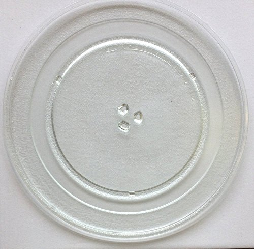 (Sharp Microwave Glass Turntable Plate / Tray for Model R551Z and SMC1840 Models)
