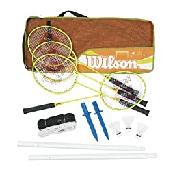 Wilson Game On Badminton Set