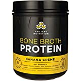 Ancient Nutrition - Bone Broth Protein Banana Creme - 17.3 oz.
