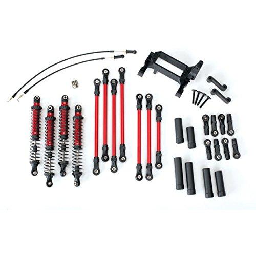 Long Arm Lift Kit - Traxxas TRX-4 Long Arm Lift Kit, Red