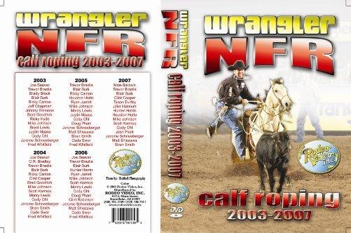 Wrangler NFR Calf Roping 2003-2007 - 5 disc DVD set (Calf Roping Videos)
