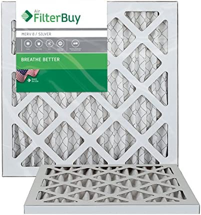 Pleated Furnace Filter Silver 10x10x1 product image