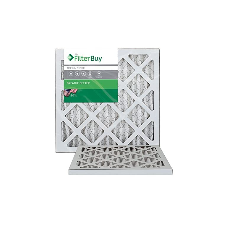 Nordic Pure 20x30x2 MERV 13 Pleated AC Furnace Air Filters 4 Pack