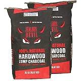 Jealous Devil All Natural Hardwood Lump Charcoal - 2 x 35LB