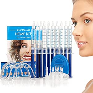 Highlights: 1. Advanced ingredients deliver dental grade results, the same technique you'll find at the dentist, but from the comfort and convenience of your home.  2. Used by hundreds of dentists and whitening kiosks around the country, but customiz...