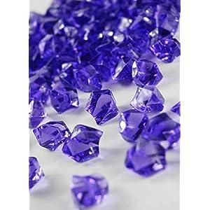 Dexon Power Dark Purple Acrylic Wedding Table Confetti (3/4 lb) 84