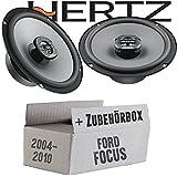 Lautsprecher Boxen Kenwood KFC-S1756-16cm Koax Auto Einbauzubeh/ör Einbauset f/ür Ford Focus 2 Heck JUST SOUND best choice for caraudio